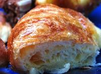 Empanaditas dulces con masa hojaldre