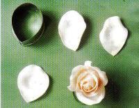 Flores de masa elástica