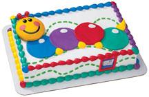 Torta gusanito para bebé