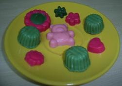 Chocolates de colores