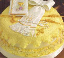 tortas de comunion forradas