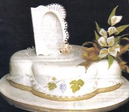tortas de comunion con glase