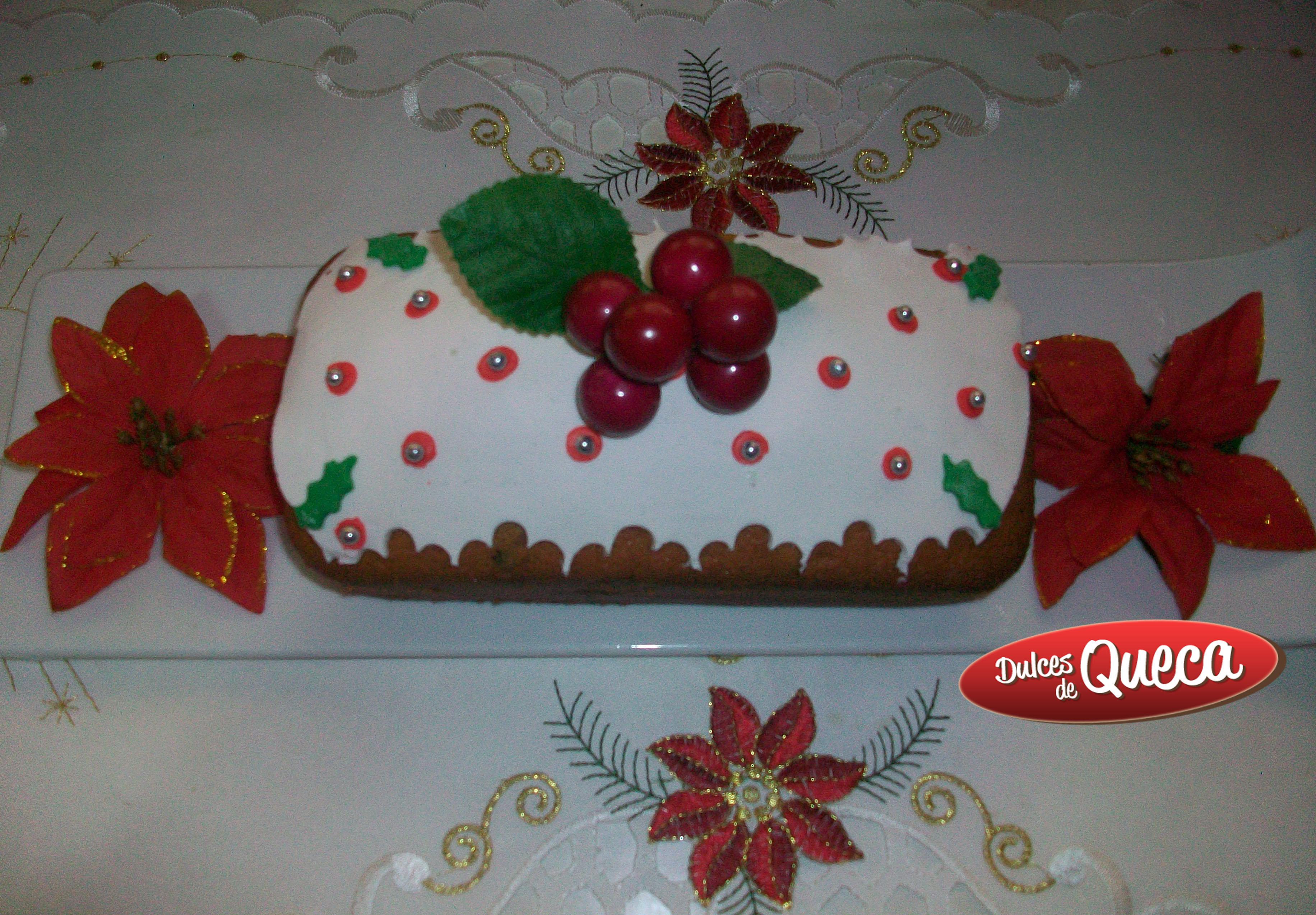 Keke especial para navidad dulces de queca - Postre especial navidad ...