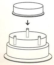Armado de torta superpuesta