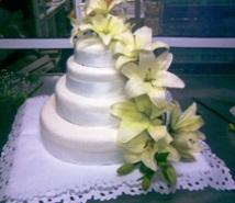 imagen torta de matrimonio Reposteria Candela