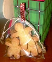 Galletas de jenjibre en bolsa-MBelen