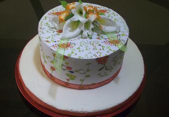 Torta Decorada Con Impresiones En Papel De Arroz Foto Torta Dulces De Queca