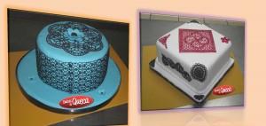 Tortas y cupcakes decorados clase 24 de mayo 2014