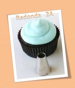 Imagen cupcake boquilla redonda