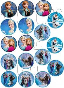 Patricia Solari - Frozen Varios 5cm