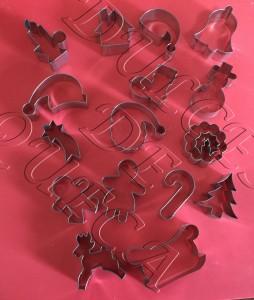 Cortadores para navidad cucpakes