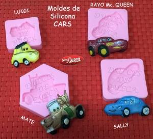 Molde de silicona CARS