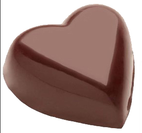 corazon con barniz